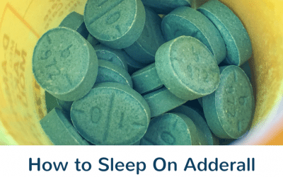 5 Simple Tips to Help You Sleep On Adderall