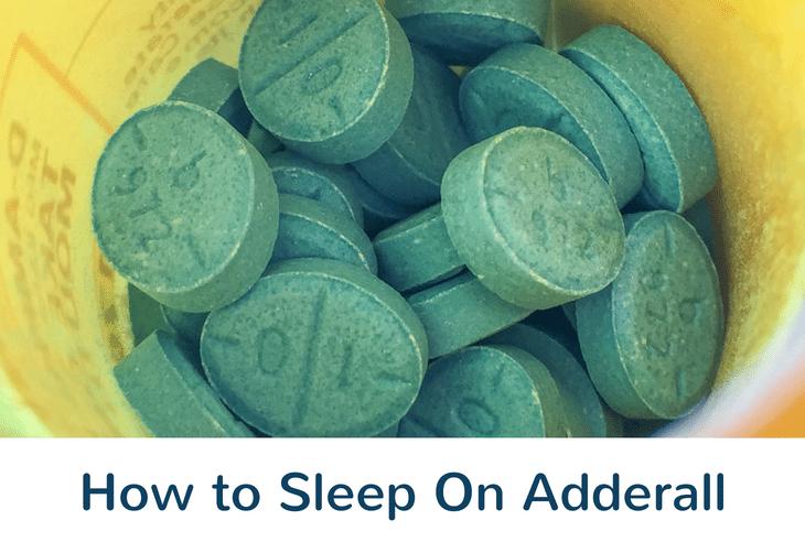 5 Simple Tips to Help You Sleep On Adderall – Sleepyhood