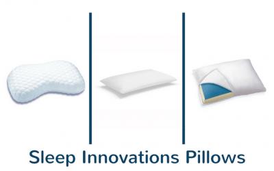 Sleep Innovations Pillows Reviews 2018: Contour, Gel & Versacurve