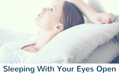 Sleeping With Your Eyes Open — The Science Behind It