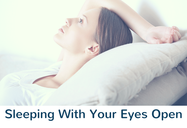 Sleeping With Your Eyes Open — The Science Behind It 1